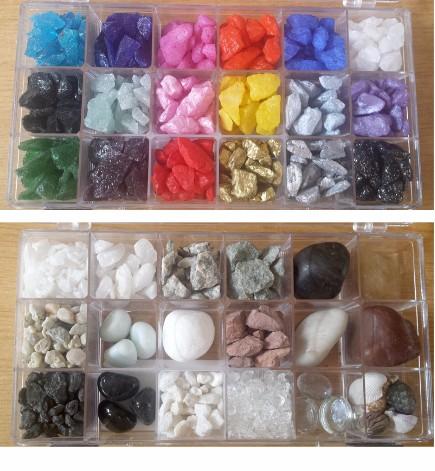 Richmond Memorials Chippings & Glass Beads