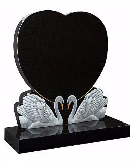 Richmond Memorials Heart Memorials CC504